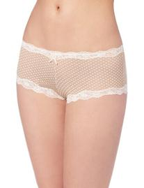 Maidenform Women's Modal Cheeky Hipster With Lace Panty,