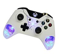 """Skulls Blue"" Xbox One Modded Controller Illuminating Design"