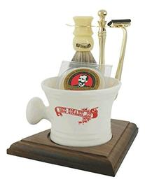Colonel Conk Model 239 5-Piece Apothecary Mug Shave Set with