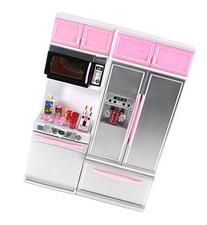 'Modern Kitchen 15' Battery Operated Toy Kitchen Playset,