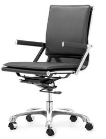 Zuo Modern Lider Plus Office Chair, Black