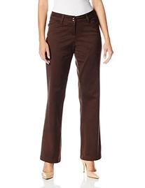Lee Women's Modern Series Curvy Fit Maxwell Trouser, Coffee
