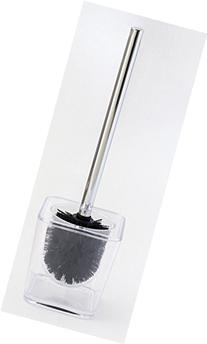 JustNile Modern Toilet Bowl Brush - Clear Box