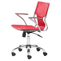 Zuo Modern Trafico Office Chair, Red