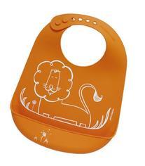 modern-twist Waterproof Silicone Bucket Baby Bib with