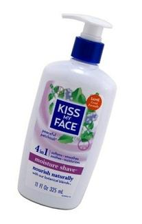 Kiss My Face Moist Shave Patchouli 11 Oz