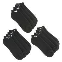 Nike Performance Moisture Wicking Low Cut Socks 6 Pair -