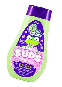 Kandoo Moisturizing Bubble Bath, Tropical Smoothie, 16 Fluid
