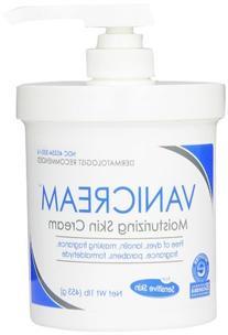 Vanicream Moisturizing Skin Cream with Pump Dispenser, 1
