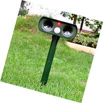 CAMTOA Mole Repeller,Outdoor Solar Powered Ultrasonic Animal