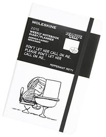 Moleskine Peanuts Weekly Notebook, Large, White