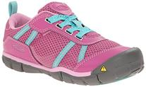 KEEN Monica CNX Shoe , Dahlia Mauve/Lagoon, 3 M US Little
