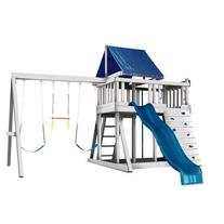 Congo Monkey Playsystem #1 with Swing Beam - White and Sand