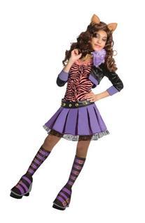 Monster High Deluxe Clawdeen Wolf Costume - Medium