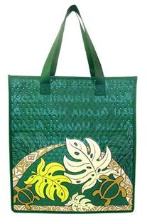 "Monstera Large Insulate Tote Bag 20"" X 14"
