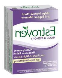 -Estroven Mood & Memory Multi-Symptom Menopause Relief, 30