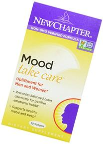 New Chapter Mood Take Care, 30 Softgels