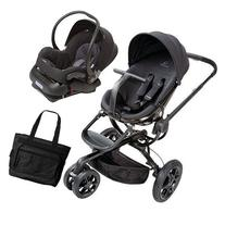 Quinny Moodd Stroller Travel system with diaper bag and car