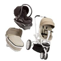 Quinny Moodd Stroller Travel System, Natural Delight/Black