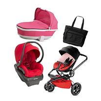 Quinny Moodd Newborn Systems in Bold Block Red