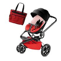 Quinny MoodQuinny Moodd Stroller With Diaper Bag Bold Block