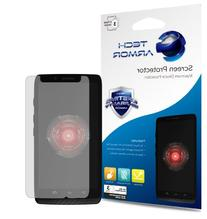 Droid MAXX Screen Protector, Tech Armor Anti-Glare/Anti-