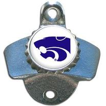 Kansas State Wildcats Mountable Steel Bottle Opener