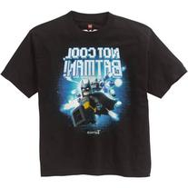 LEGO Boys' Batman Movie Not Cool Graphic Tee
