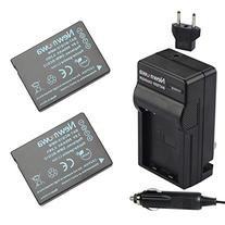 Newmowa DMW-BCG10 Battery  and Charger kit for Panasonic DMW