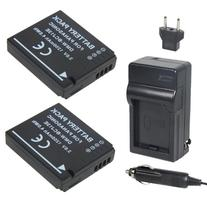 Newmowa DMW-BCJ13 Battery  and Charger kit for Panasonic DMW