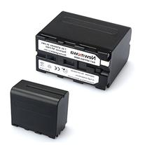 Newmowa NP-F960 Battery  and Charger kit for Sony NP-F975,