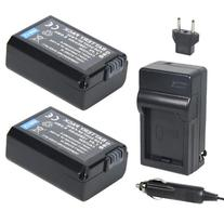 Newmowa NP-FW50 Battery  and Charger kit for Sony NP-FW50