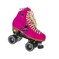 Riedell Moxi Lolly Fuchsia Womens Outdoor Roller Skates 2015