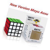 CuberSpeed Moyu Aosu 4x4 black 62mm magic cube 4x4x4 speed