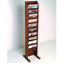 Wooden Mallet MR10-FSMH Cascade Free Standing 10 Pocket