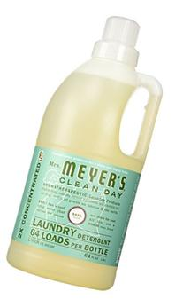 Mrs. Meyer's Basil Laundry Detergent 2x Concentrated, Basil