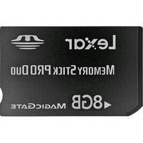 Lexar MSDP8GB-40-664 8GB Platinum II Memory Stick Pro Duo