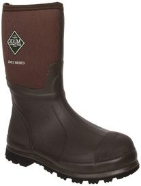 MuckBoots Chore Cool Mid Waterproof Work Boot,Brown,14 M US