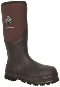 MuckBoots Chore Cool Steel-Toed Work Boot,Brown,7 M US Mens/
