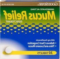 Good Sense Mucus Relief -- 30 Tablets