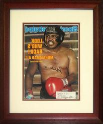 Muhammad Ali Autographed Framed Sports Illustrated Magazine