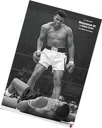Muhammad Ali vs. Sonny Liston Boxing Sports Poster 24x36