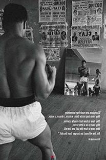 Muhammad Ali-Training in the Gym, Sports Poster Print, 24 by