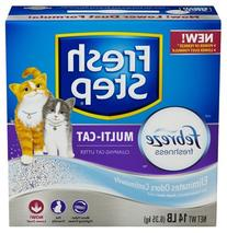 Fresh Step Multi-Cat, Scented Scoopable Cat Litter, 14