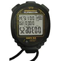 Accusplit 500 Memory Stopwatch, Black