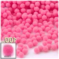 The Crafts Outlet 100-Piece Multi purpose Pom Poms, Acrylic