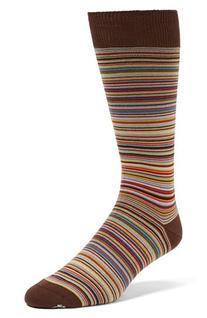 Men's Paul Smith Multi Stripe Socks, Size 0 - None