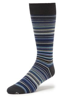 Men's Paul Smith Multi Stripe Socks, Size 0 - Blue