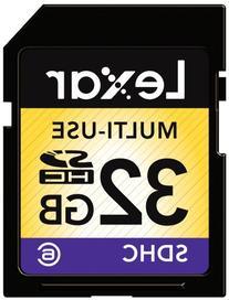 Lexar Multi-Use 32GB SDHC Flash Memory Card