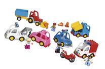 Multi Vehicles Set for Exploring Transportation by LEGO